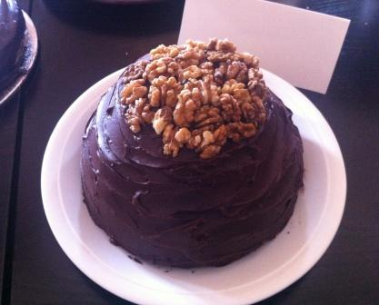 giant walnut whip cake