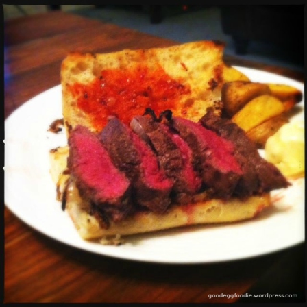 Best steak sarnie ever!