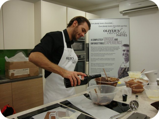 Oliver Dunn at Cheshire Cookery School