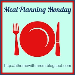 Meal Planning Monday Linky