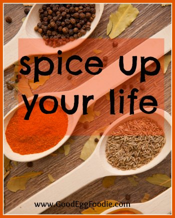 SPICE UP YOUR LIFE RECIPE LINK UP