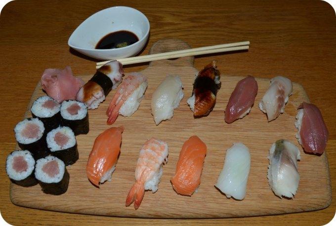 Koi Japanese Sushi Platter
