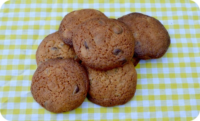 Ginger Choc Chip Biscuits
